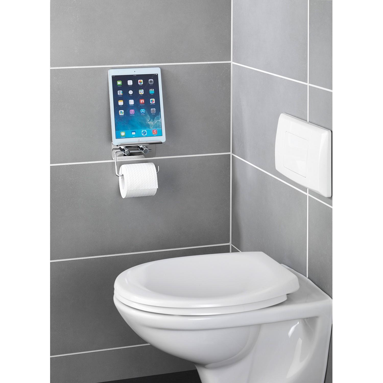 home24 Toilettenpapierhalter Smartphone Ablage | Bad > Bad-Accessoires > Toilettenpapierhalter | Wenko