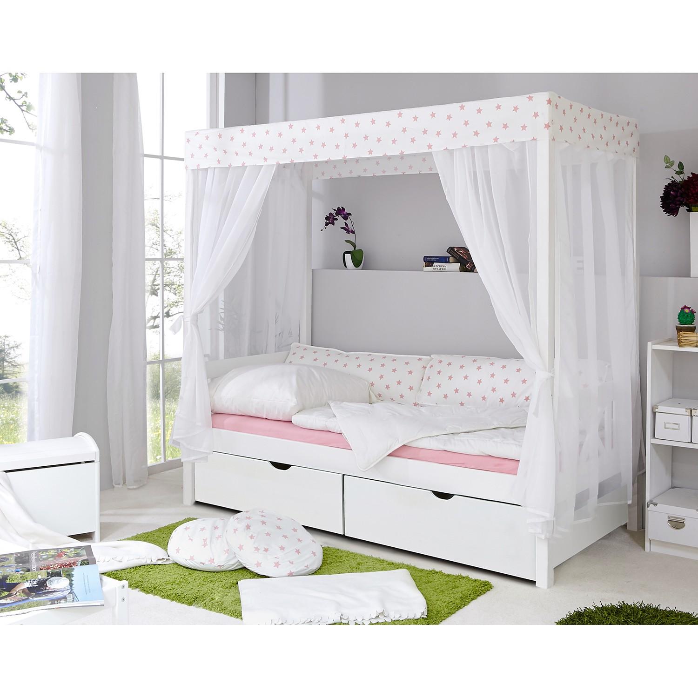 home24 Himmelbett Stern XV | Schlafzimmer > Betten > Himmelbetten