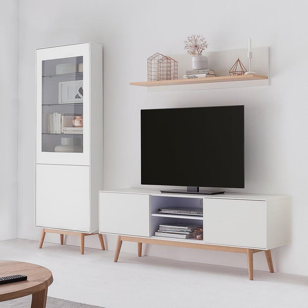 Ensemble meubles TV Lindholm IV (3 él.)