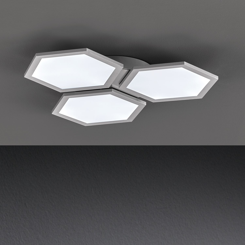 home24 LED-Deckenleuchte Tissa I