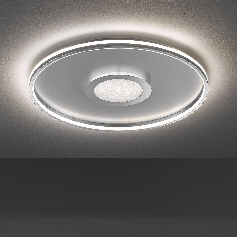 home24 LED-Deckenleuchte Vehs I