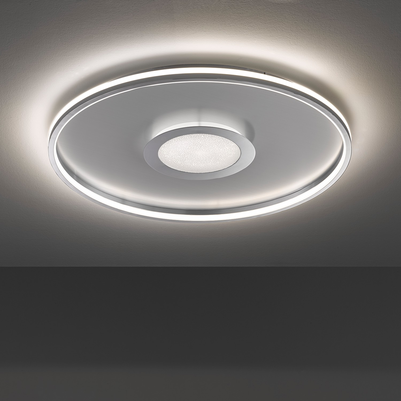 home24 LED-Deckenleuchte Vehs III