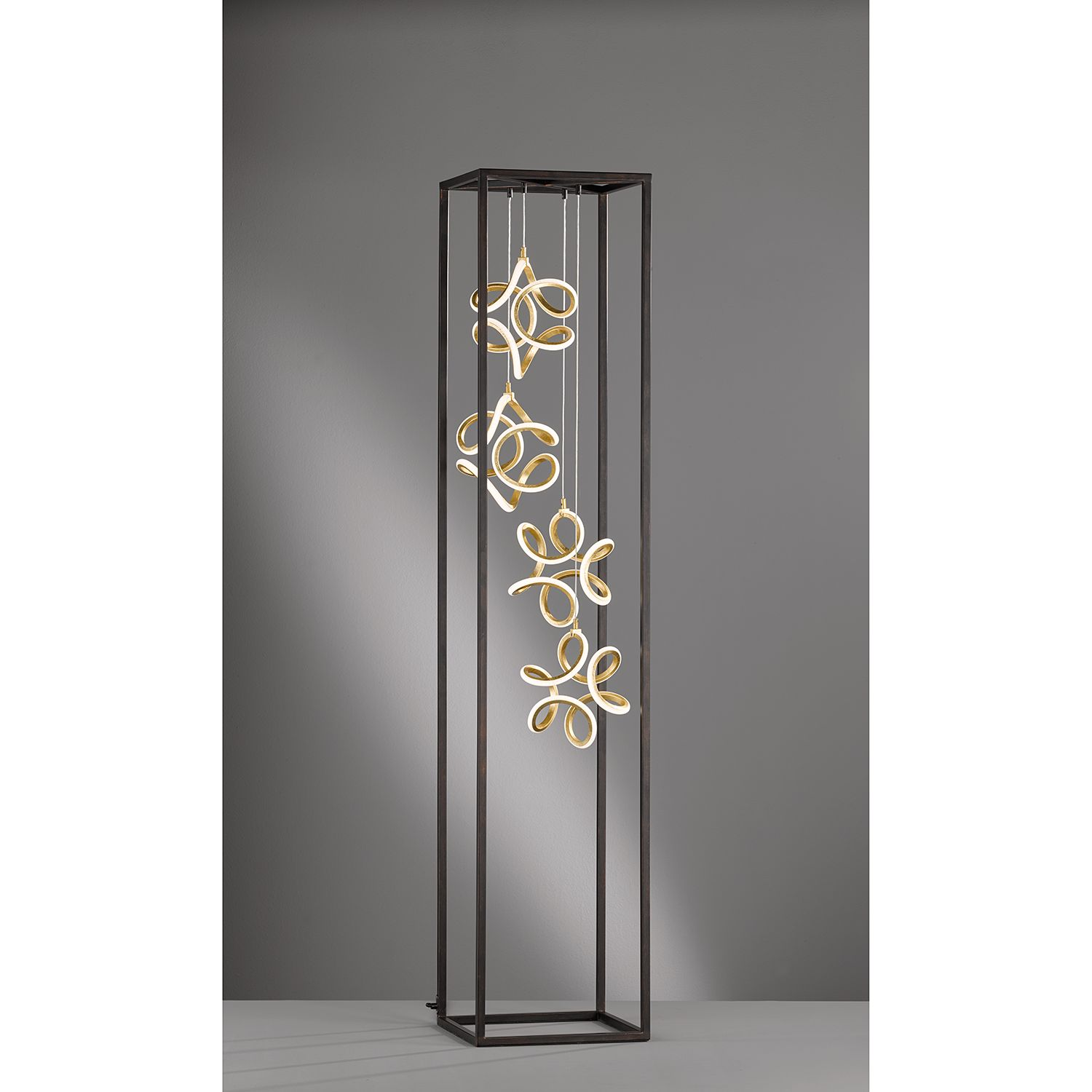 home24 LED-Stehleuchte Mury