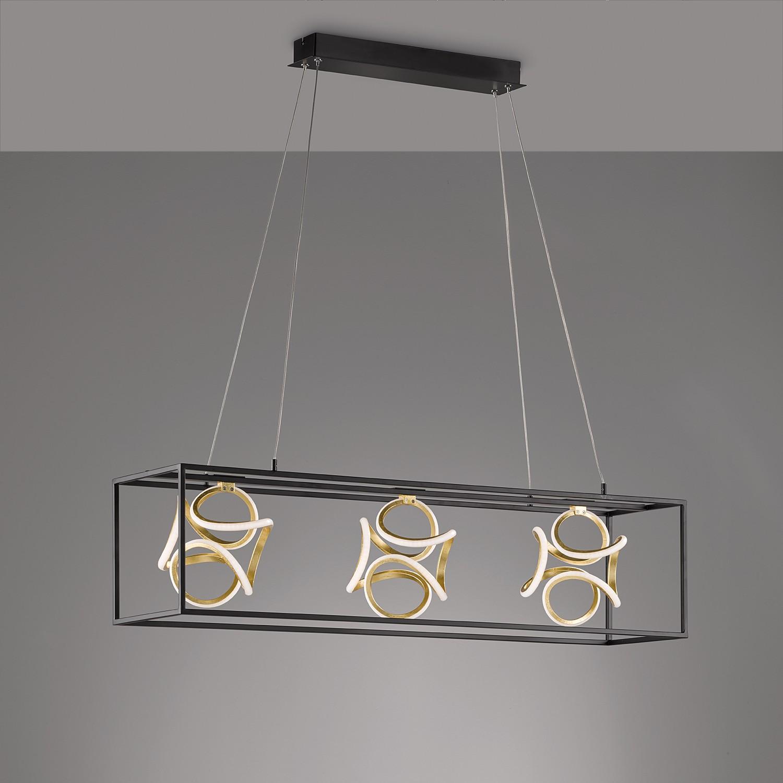 home24 LED-Pendelleuchte Muriu