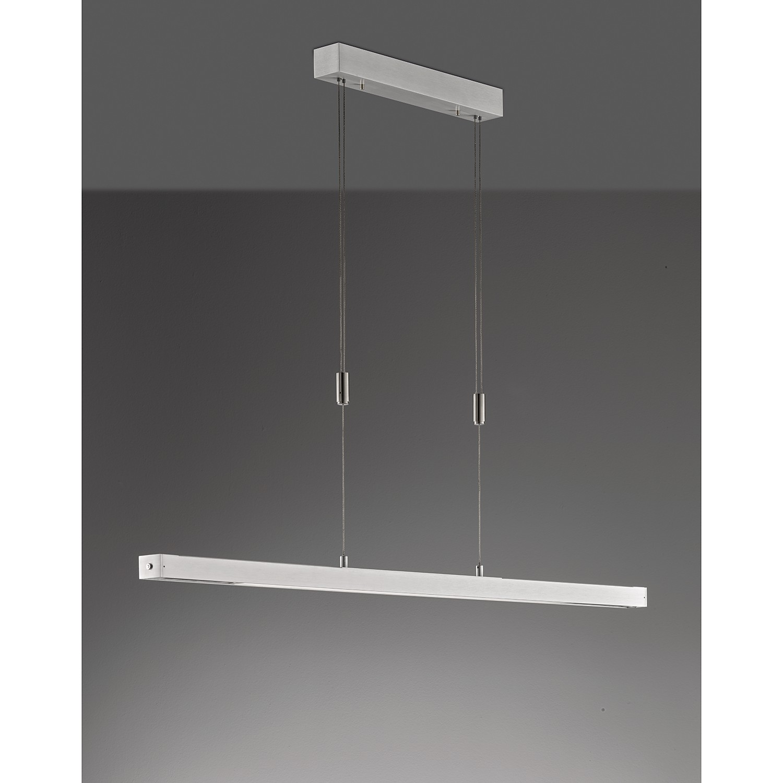 home24 LED-Pendelleuchte Mehlby