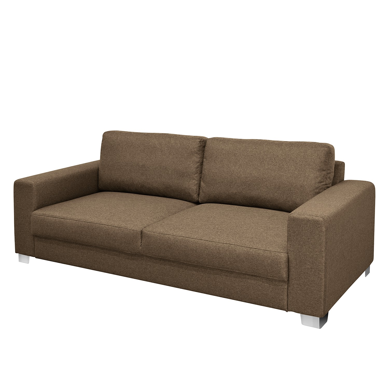 Modoform Sofa Ronks 3-Sitzer Sandgrau Flachgewebe 222x84x92 cm