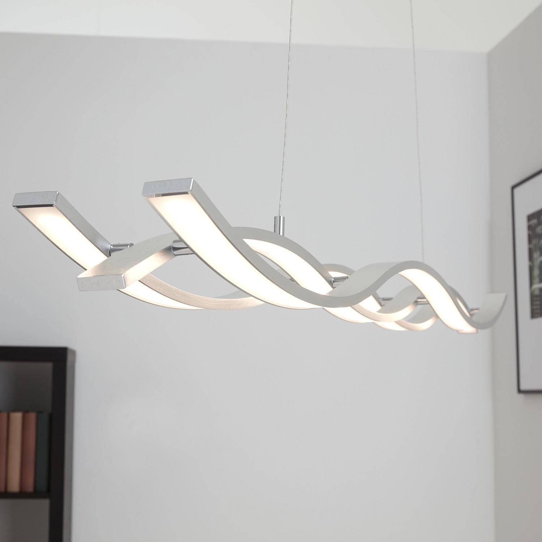 home24 LED-Pendelleuchte Medita