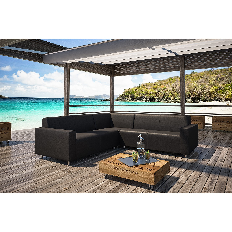 Optimal: Loungegruppe Carbon