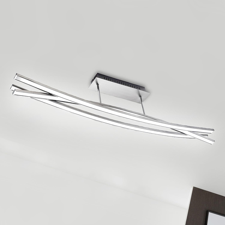 home24 LED-Deckenleuchte  Urban Wave