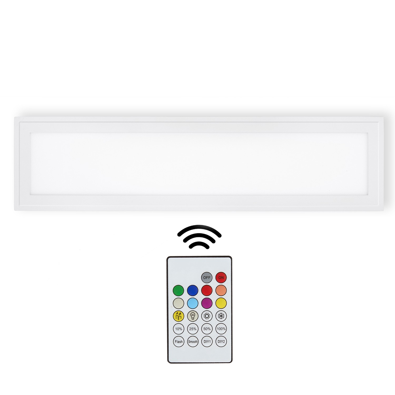 home24 LED-Deckenleuchte Xenia