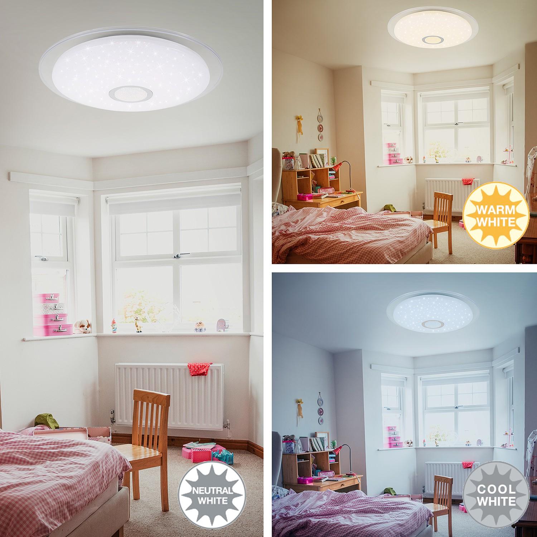 home24 LED-Deckenleuchte Myra