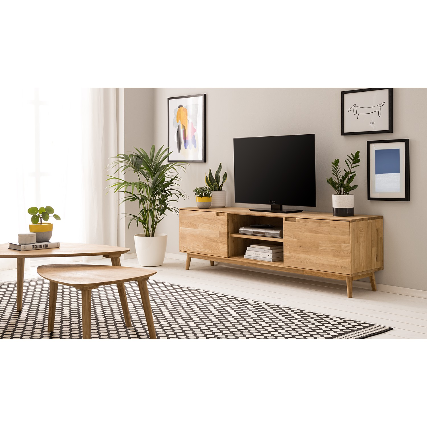 home24 TV-Lowboard Finsby II