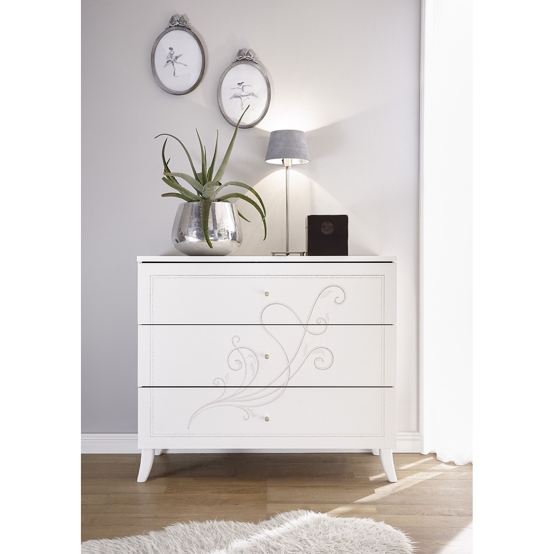Schlafzimmermöbel - Kommode Kamenka - LC Mobili - Weiss