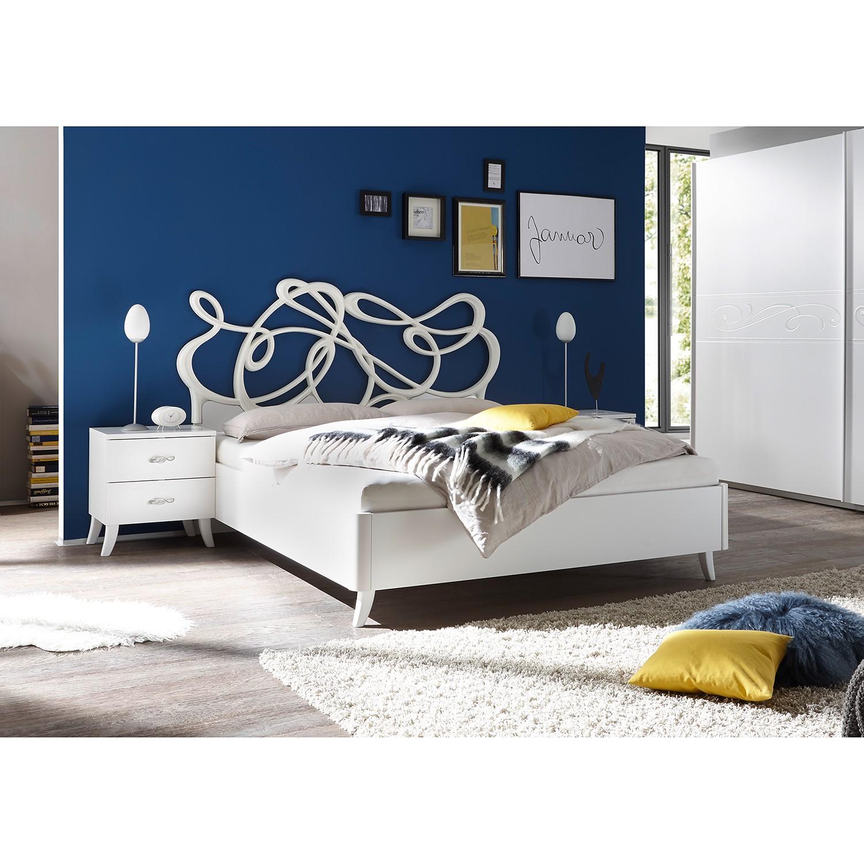 Schlafzimmermöbel - Bett Soyana - LC Mobili - Weiss