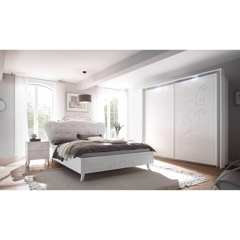 Schlafzimmermöbel - Schwebetuerenschrank Kamenka - LC Mobili - Weiss