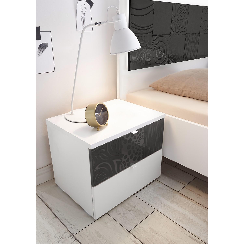 Schlafzimmermöbel - Nachtkommode  Laussonne - LC Mobili - Weiss