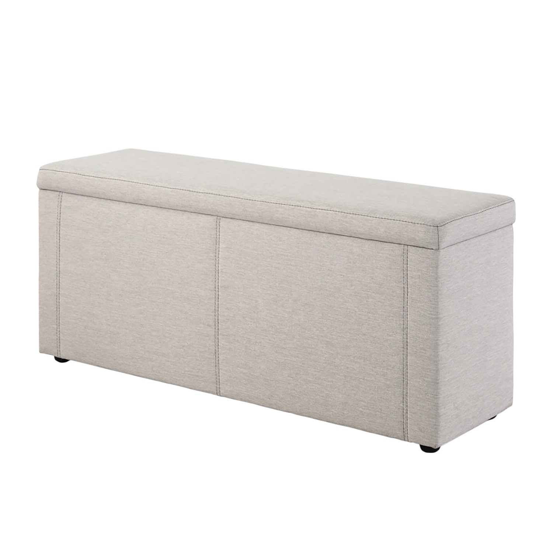 Schlafzimmermöbel - Hockerbank Rhyme - Home Design - Grau