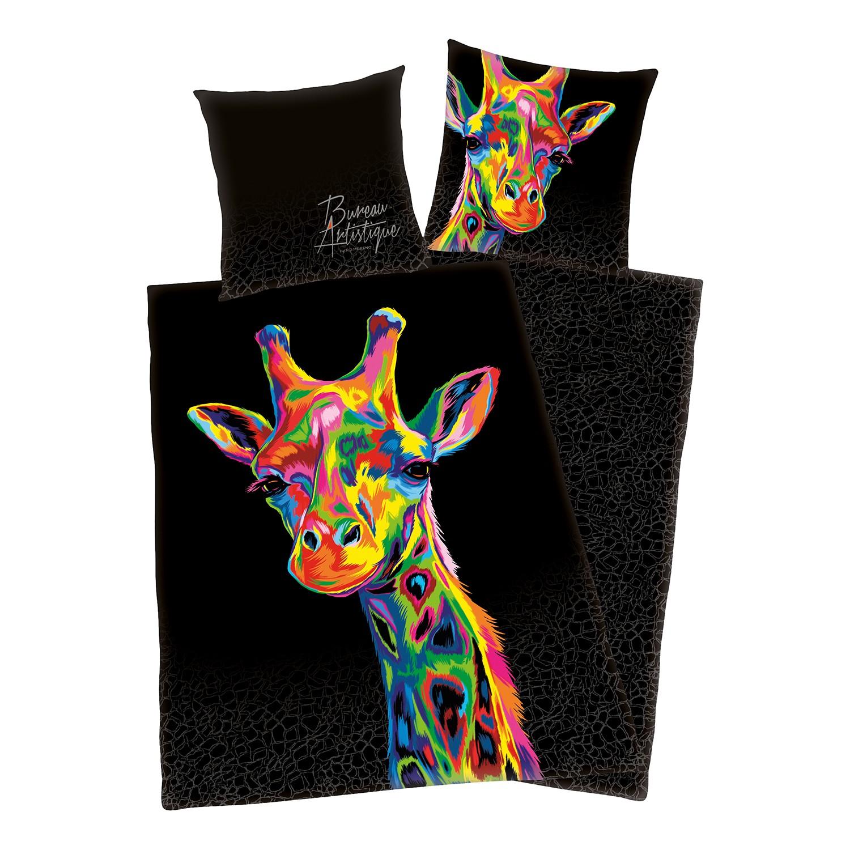 home24 Bettwaesche Bureau Artistique Giraffe