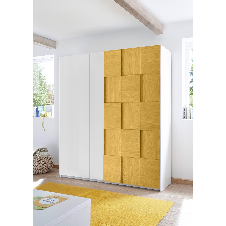 Schlafzimmermöbel - Schwebetuerenschrank Enjoy III - home24 - Gelb