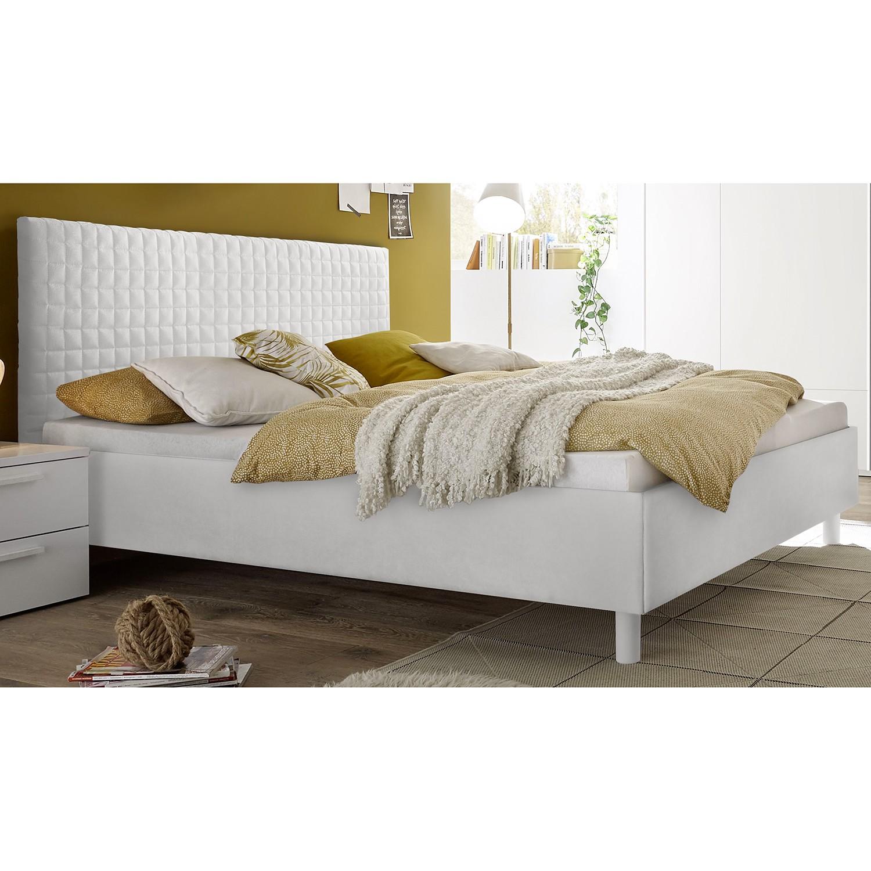 Schlafzimmermöbel - Bett Enjoy Quadro - home24 - Weiss