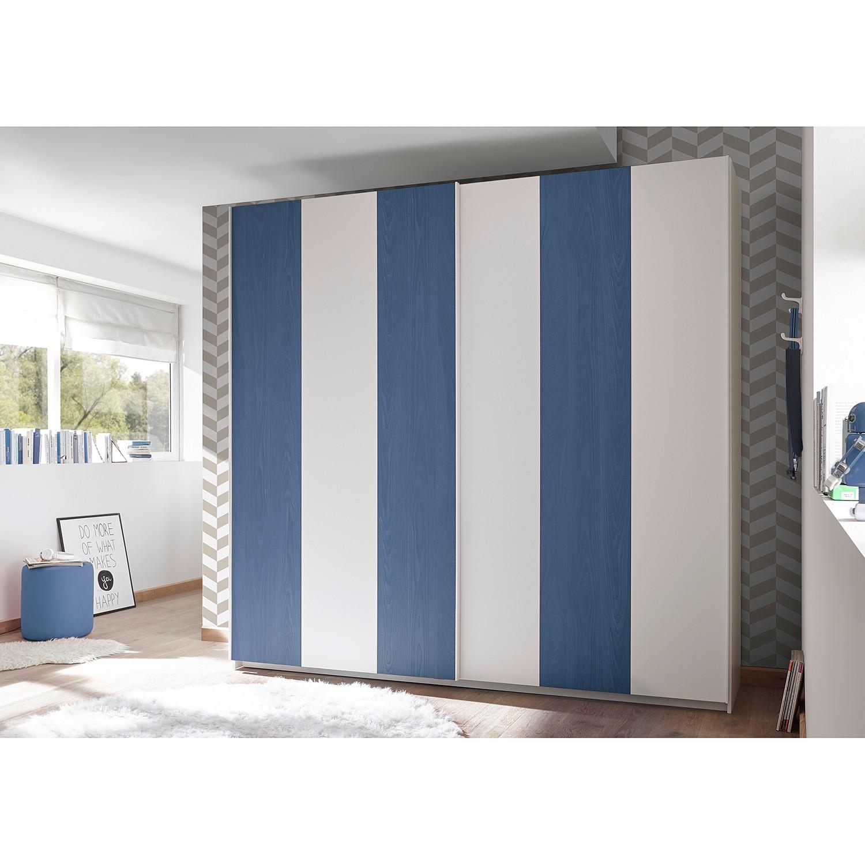 Schlafzimmermöbel - Schwebetuerenschrank Enjoy I - home24 - Blau