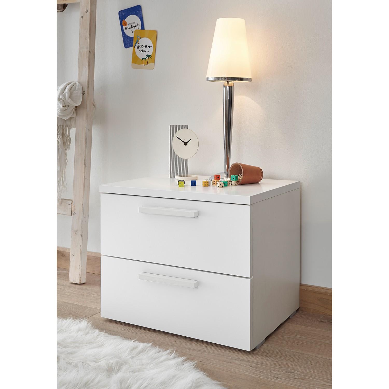 Schlafzimmermöbel - Nachtkommodenset Enjoy (2-teilig) - home24 - Weiss