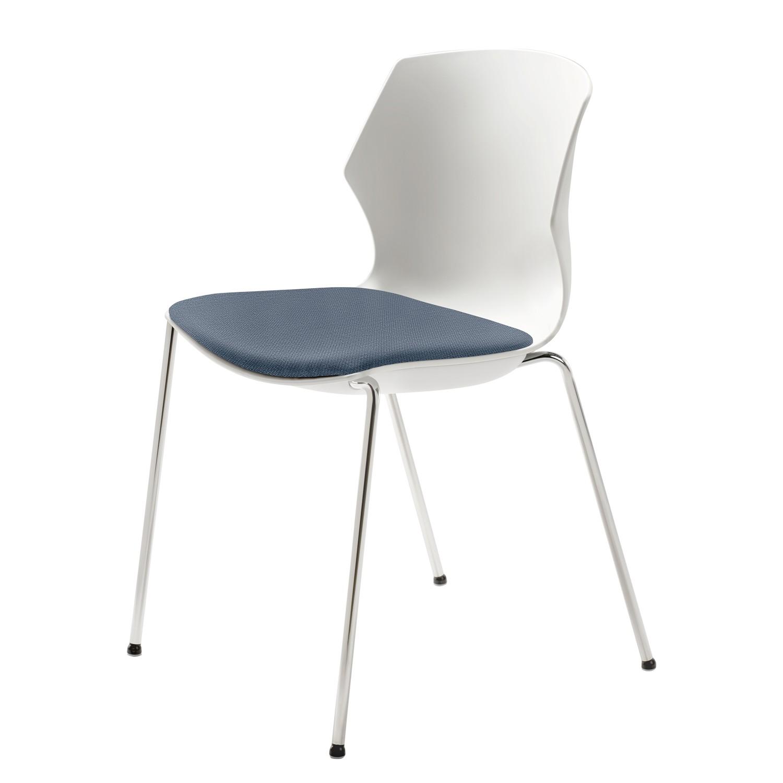 home24 Stapelstuhl myPRIMO   Küche und Esszimmer > Stühle und Hocker > Esszimmerstühle   Weiss   Mayer Sitzmoebel