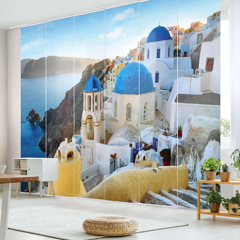 home24 Schiebegardinen Santorini (6er-Set) | Heimtextilien > Gardinen und Vorhänge > Schiebegardinen und Schiebevorhänge | Bilderwelten