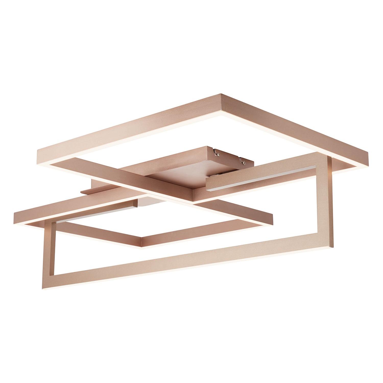 home24 LED-Deckenleuchte Quadras