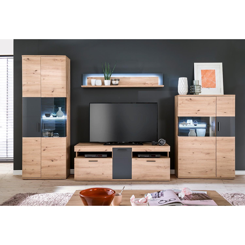 home24 TV-Lowboard Callington I | Wohnzimmer > TV-HiFi-Möbel | Naturoo