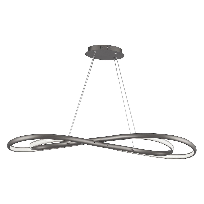 home24 LED-Pendelleuchte Collin
