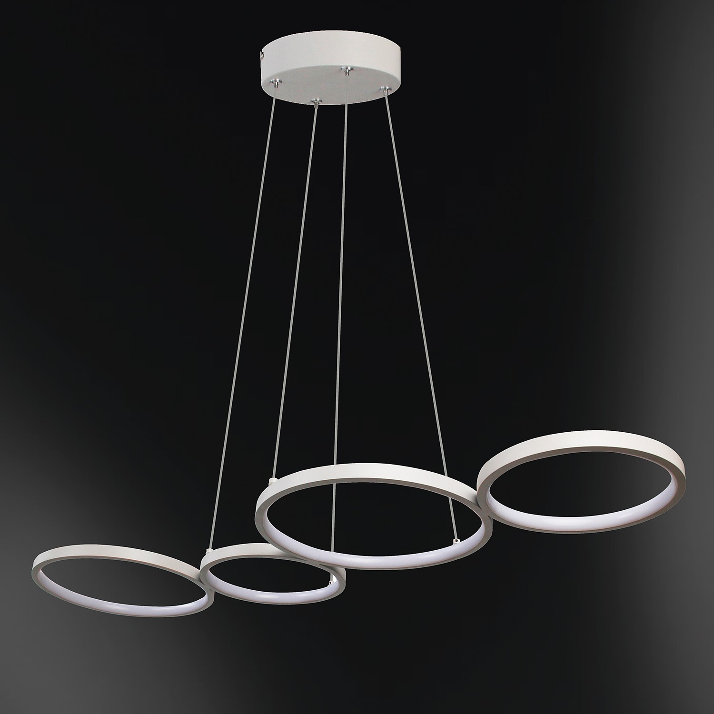 home24 LED-Pendelleuchte Vika