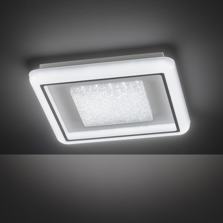 home24 LED-Deckenleuchte Rhena II