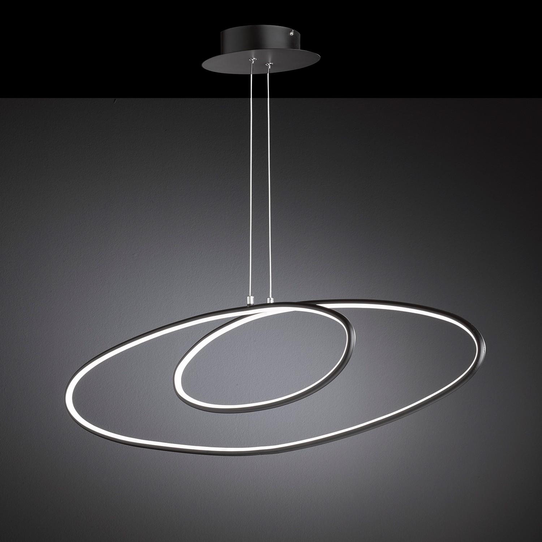 home24 LED-Pendelleuchte Fork