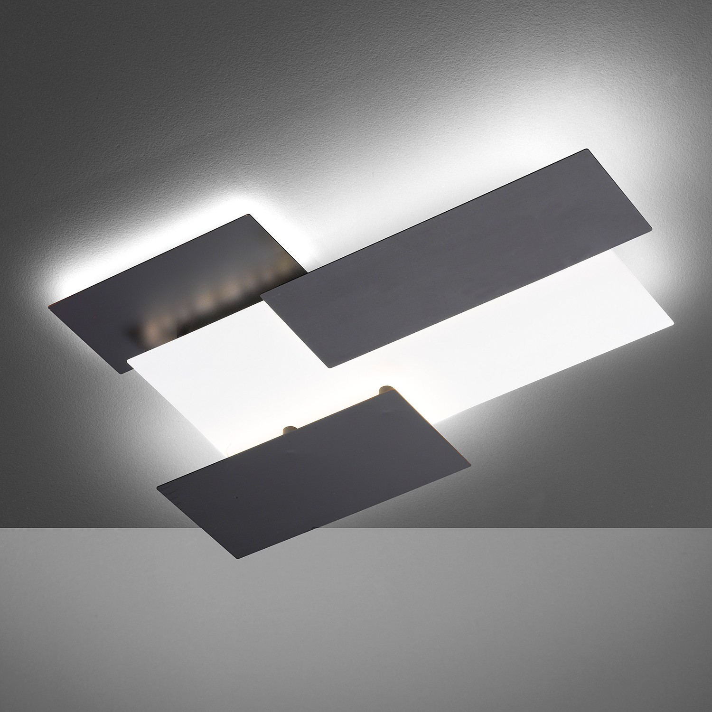 home24 LED-Wandleuchte Tornio III