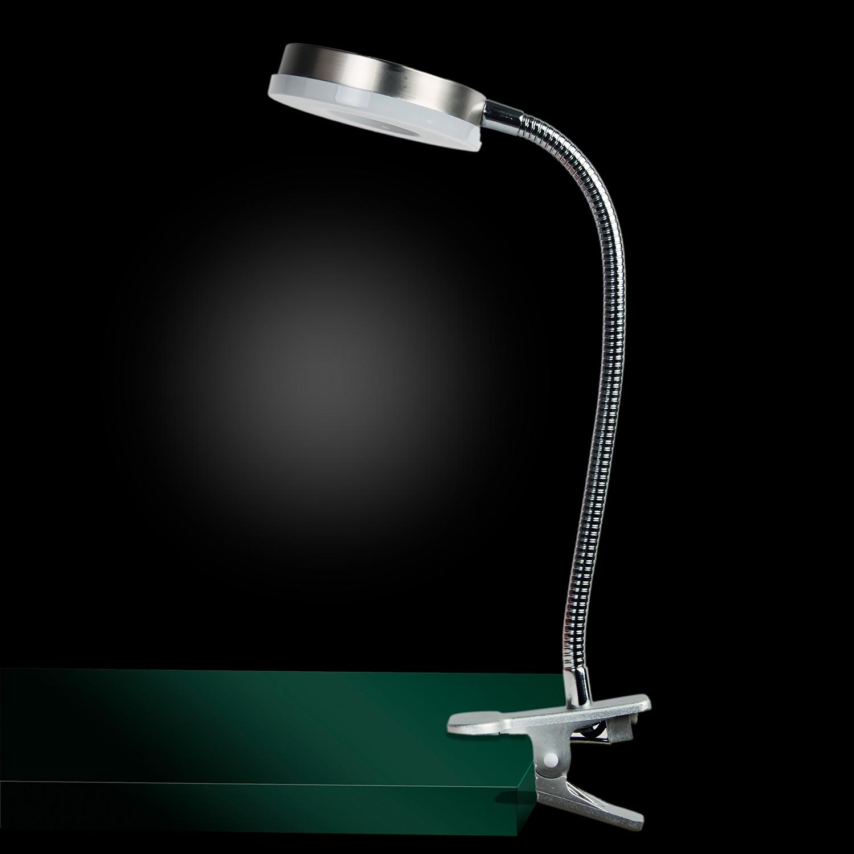 home24 LED-Tischleuchte Brent VI