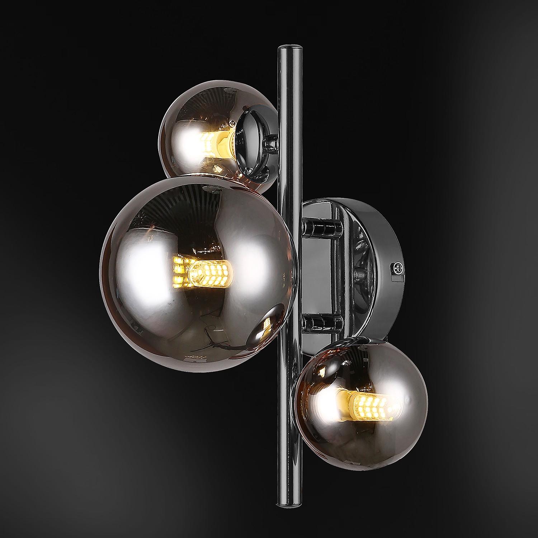 home24 LED-Wandleuchte Villa