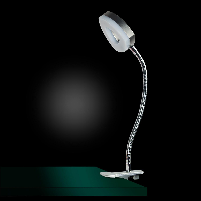 home24 LED-Tischleuchte Brent VII