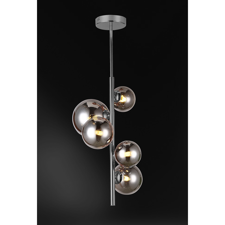 home24 LED-Deckenleuchte Villa