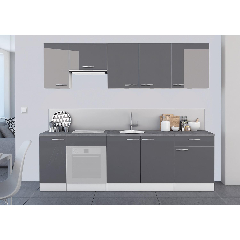 home24 Kuechenzeile Sudros II (8-teilig) | Küche und Esszimmer > Küchen > Küchenzeilen | loftscape