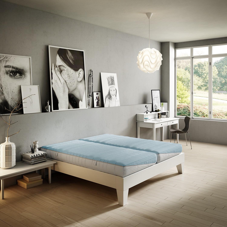 Schlafzimmermöbel - Taschenfederkernmatratze Clever 35 - Schlaraffia - Weiss
