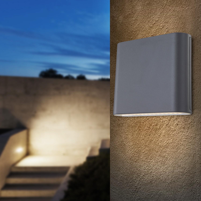 home24 LED-Wandleuchte Agam