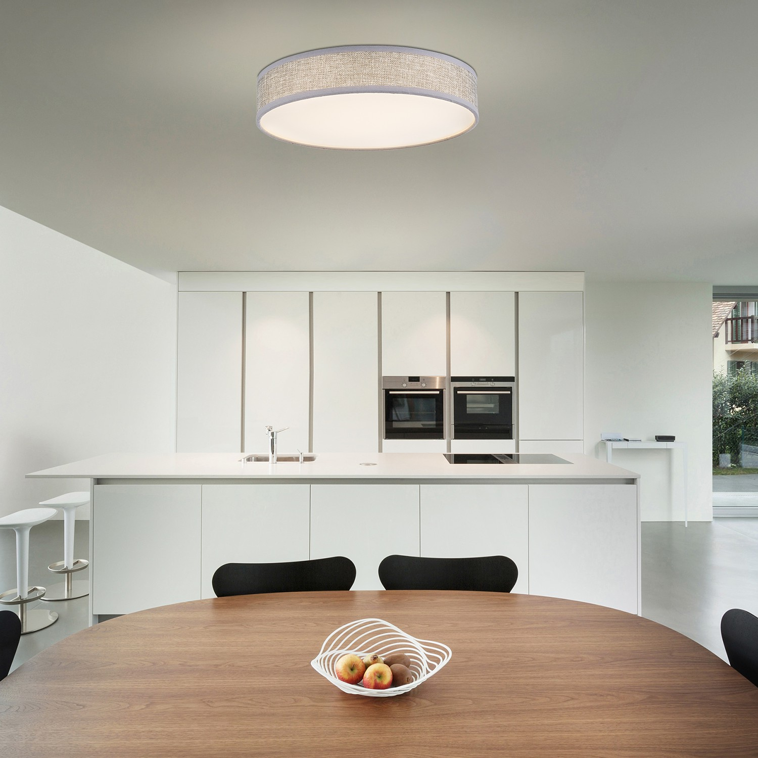 home24 LED-Deckenleuchte Paco I