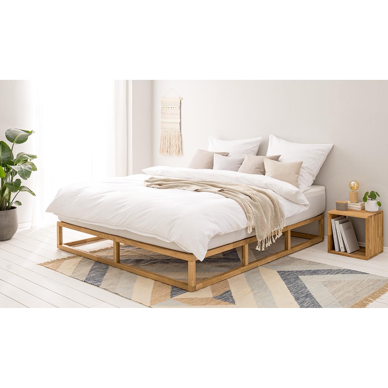 home24 Massivholzbett Smood   Schlafzimmer > Betten > Massivholzbetten