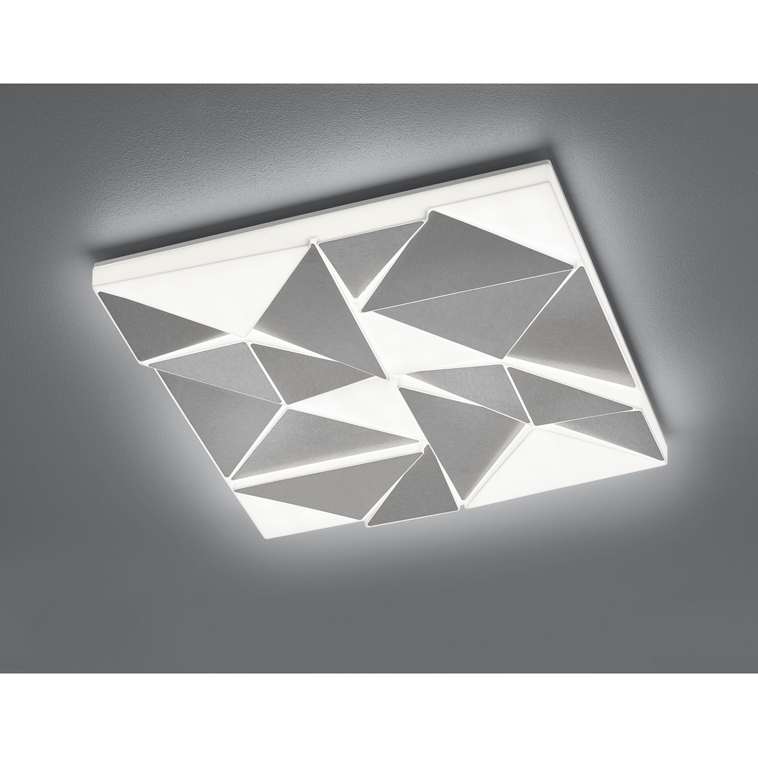 home24 LED-Deckenleuchte Trinity II