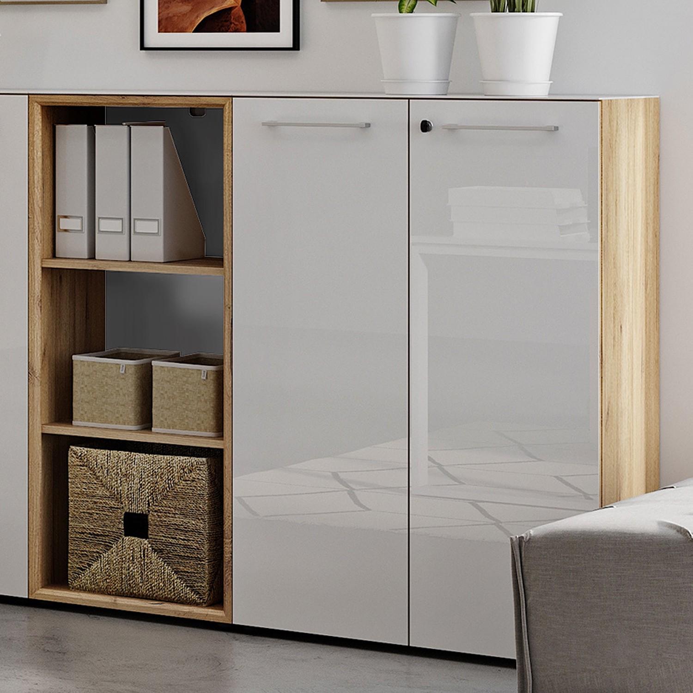 home24 Bueroset Monteria IV (2-teilig) | Büro > Büromöbel-Serien | Beige | Germania