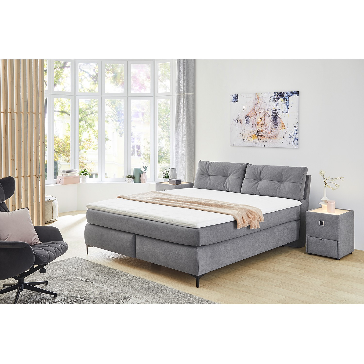 Lit boxspring Homein