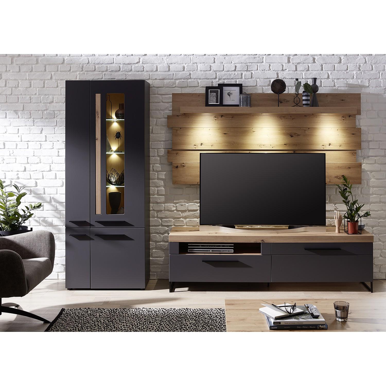 home24 Standvitrine Parolin I | Wohnzimmer > Vitrinen > Standvitrinen | Red Living