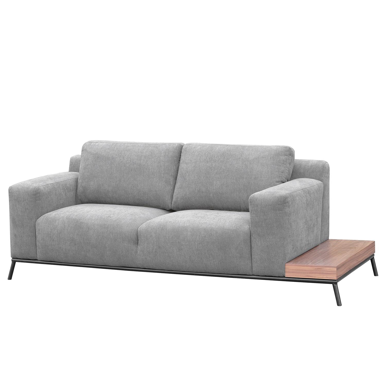 Fredriks Sofa Londrina 2-Sitzer Hellgrau Microfaser 226x86x92 cm