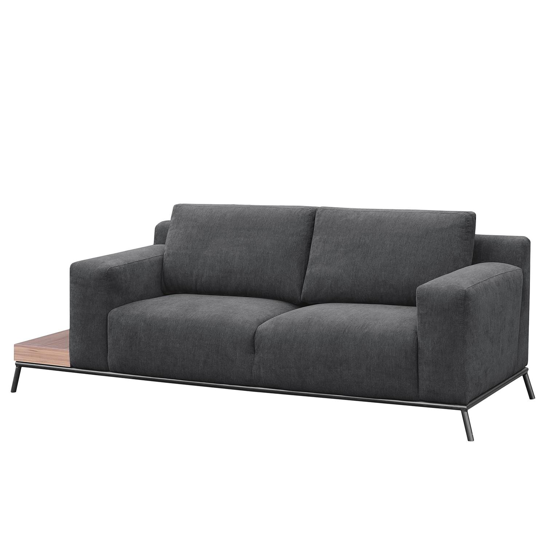 Fredriks Sofa Londrina 2-Sitzer Dunkelgrau Microfaser 226x86x92 cm